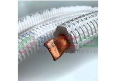 """[Medené potrubie s izoláciou 1/4"""" (Ø 6,35mm x 0,8mm)]"""