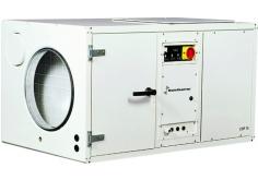 [Stacionárny bazénový odvlhčovač CDP 125 W 1F s vodou chladeným kondenzátorom a montážou do strojovne]