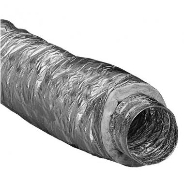 Tepelne izolovaná ohybná hadica d100mm / 10m - pre rozvody vzduchu