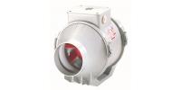 Plastové ventilátory do potrubia