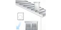 Potrubné ventilátory s montážou do exteriéru