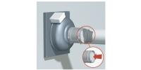 Potrubné ventilátory s montážou na stenu