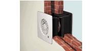 Ventilátory do steny